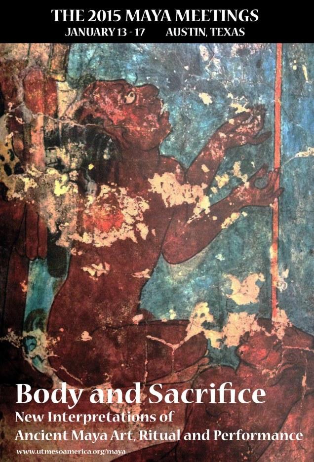 2015 Maya Meetings poster