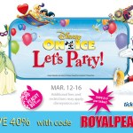 Peachy Buy Discount Code for Disney on Ice. Enter to win four tickets to the show (GTA)