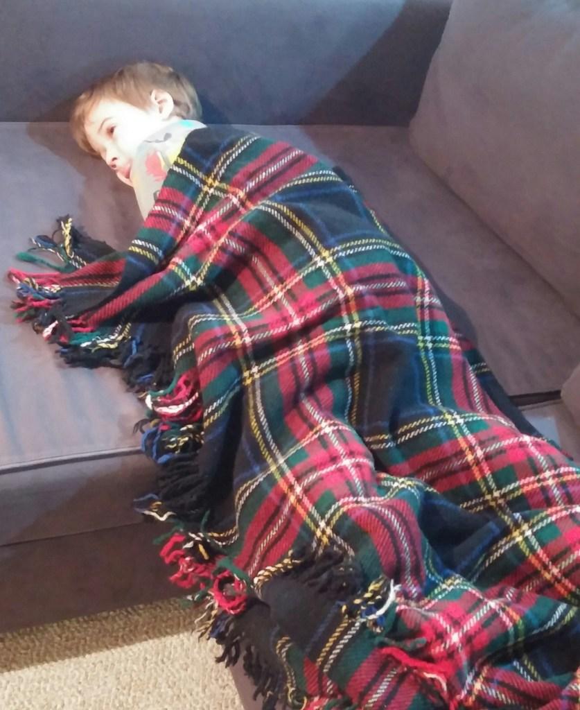 My sick boy :(