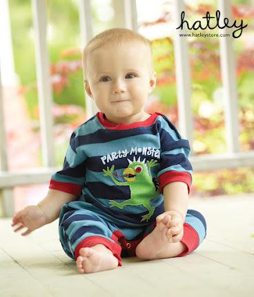 baby modeling hatley