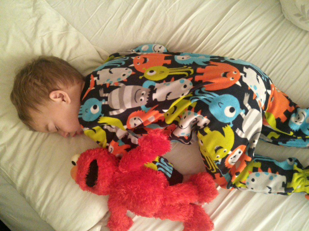 Nate sleeping