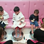 My boys and I left with much more than just sparkly nails after our visit to Glama Gal Tween Spa