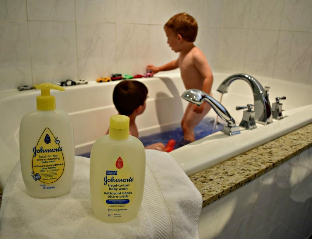 johnson's head to toe body wash