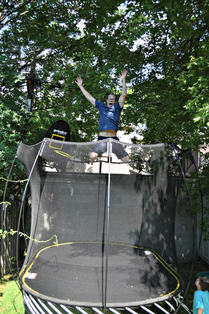 springfree john high jump
