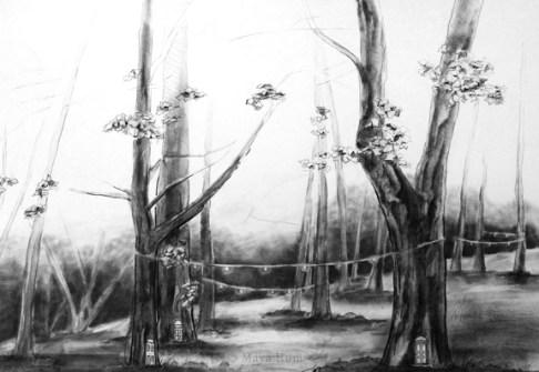 A Place of Trees, B y Maya Hum