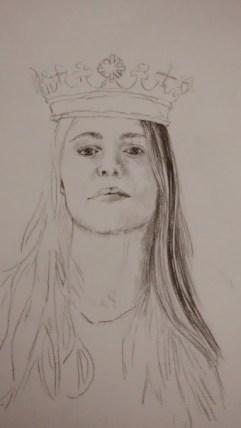 """""""Queen"""" In progress photos by Maya Hum"""