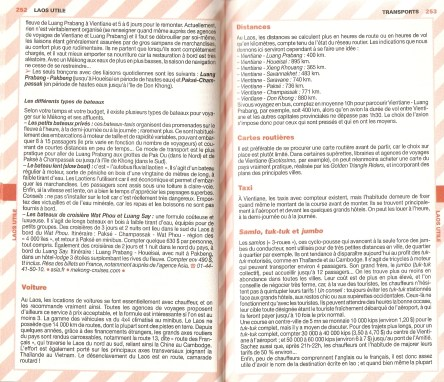 Laos Le Routard Infos Generales 12