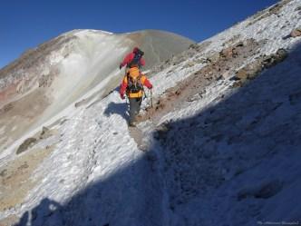 Cordillera Arequipa ascencion Chachani sommet Azufera traversee