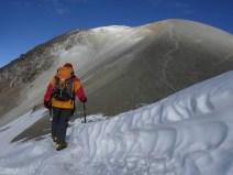 Cordillera Arequipa ascencion Chachani sommet Azufera