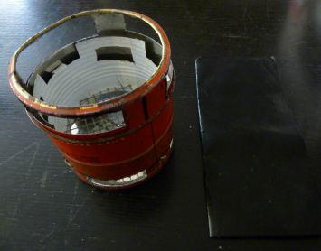 rechaud bois leger 5 et plaque teflon