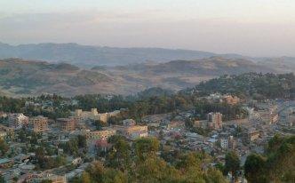 Gondar depuis Vue Goha hotel