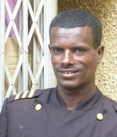 Gondar Quara Hotel 02 entree portier