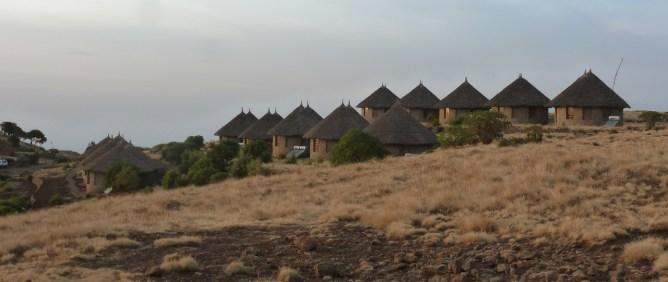 Simien 0 hotel Simien lodge village cases