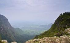 Simien 1 Aman Amba 2 Panorama vallee saison pluie