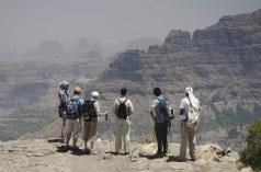 Simien 2 Deche Nedala vue site cascade de Jinbar