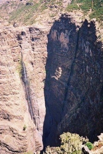 Simien 3 Jimbar waterfall saison seche