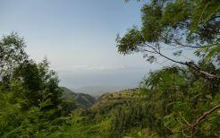 CaboVerde2013-H-24 Vue de Porto Novo depuis route Pica da Cruz