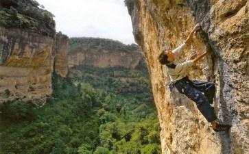 España - Siurana paredes de escalada