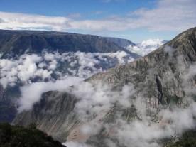 Peru-Canyon Cotahuasi Huarhua quebrada