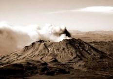 Peru volcan ubinas apres le 11-09
