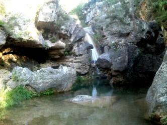 2014-07-12 Ruta dels Refugis (130) La Gorguina cascade