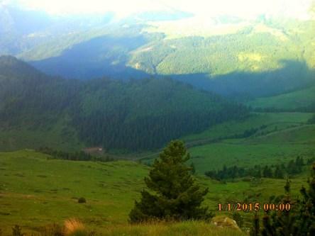 IMG_1210 Col Lumbardhit vue route Milishevic