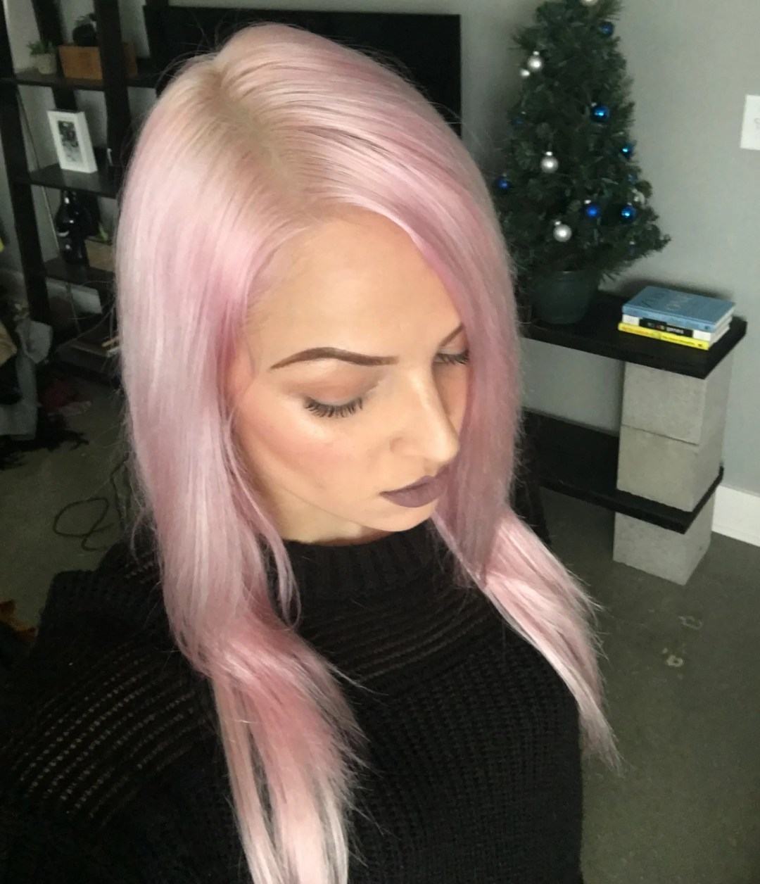 How To Get Pastel Pink Hair Using Ion Color Brilliance Dyes Mayalamode