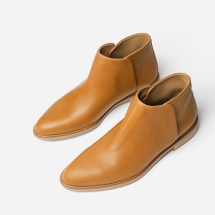 Brown Leather Everlane Ankle Boot