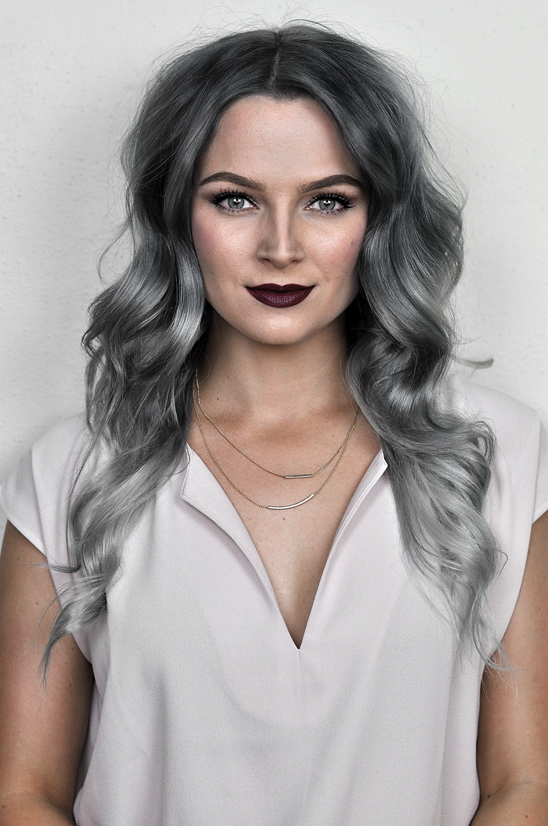 Silver Ombre Hair Dye Tutorial With Overtone Mayalamode