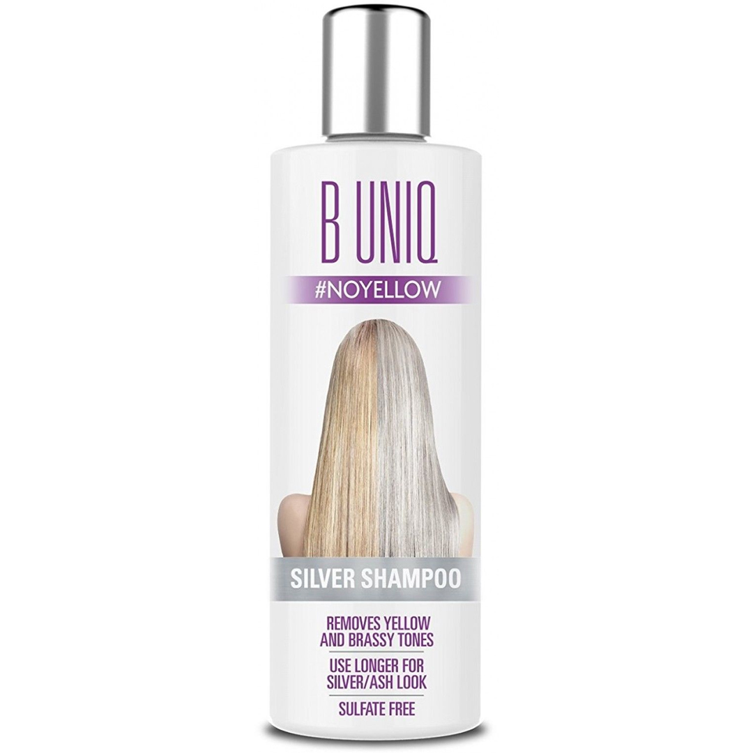 Say goodbye to brassy or yellow hair and hello to beautiful platinum blonde or silver hair thanks to these awesome sulfate free purple shampoos!