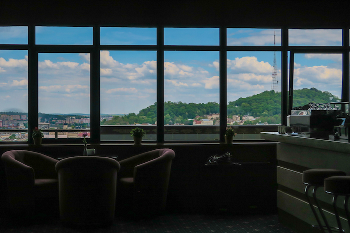 Hotel Dnister Panorama Bar View Lviv