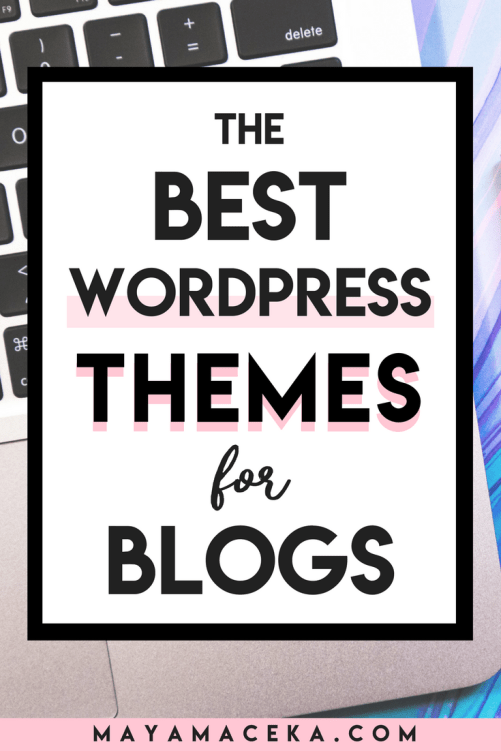 Looking for cute blog themes? I have rounded up all of the best WordPress themes for blogs into one list. If you need feminine blog themes, look no further. Click through! #branding #wordpress