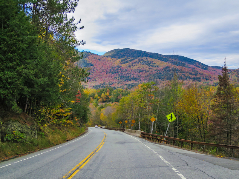 scenic drive in lake placid