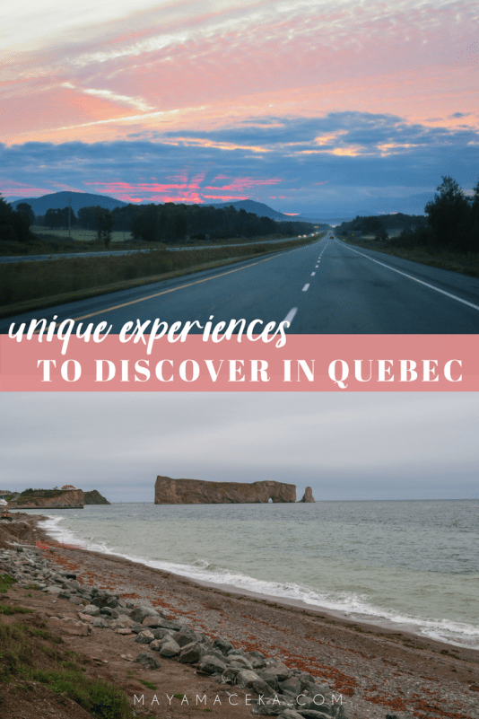 Discover some unique experiences in Quebec by watching the new video from QuébecOriginal, which will inspire you to unplug and enjoy the world around you! #QuebecOriginal