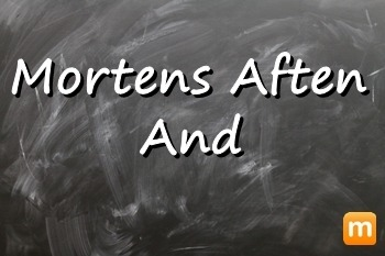 Mortens aften and