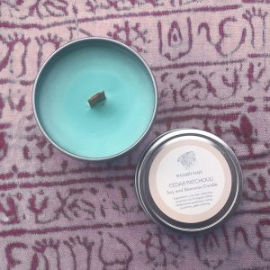 Cedar Patchouli Candle