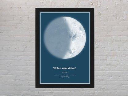 plavi mjesec i mjesečeve mijene