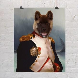 personalizirani poklon portret psa za vlasnike pasa