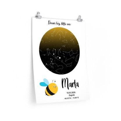 djecji poklon zvijezdano nebo pčelica