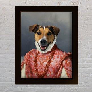 personalizirani portret kućnog ljubimca poklon za vlasniak psa
