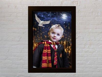 harry potter dječak i poklon portret za djecu