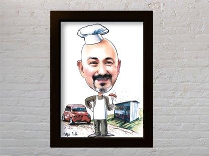kuhar poklon karikatura