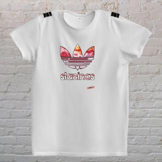 slaninas majica poklon za rodjendan poklon prijatelju ljubitelj mesa i slanine BIJELA