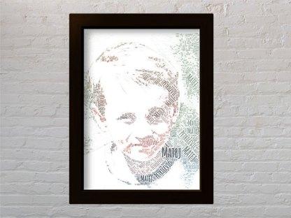 portret od riječi