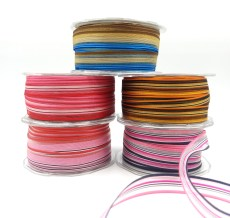 organza striped woven ribbons