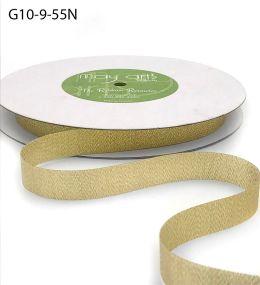 woven metallic gold ribbon