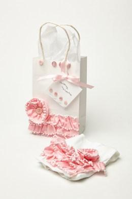 Baby Girl Ribbon Gift