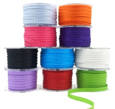 Satin Knotted Edge Ribbons