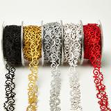 Better than washi tape Adhesive Fleur-de-lis Scroll Design Group