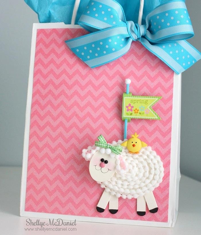 Make a Little Lamb Embellishment